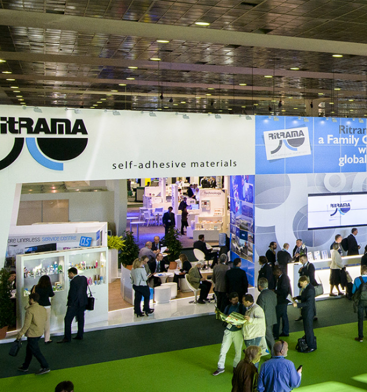 RITRAMA AT LABELEXPO EUROPE 2017: INNOVATION AND RESEARCH AT THE HEART OF THE COMPANY'S SUCCESS