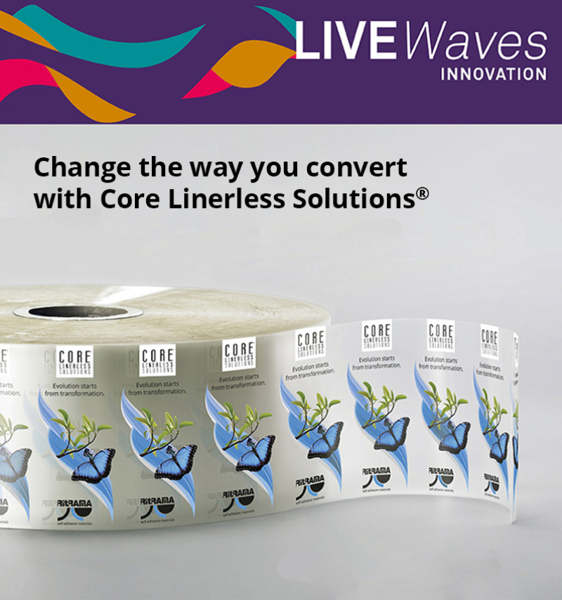 FIRST LIVEWAVES WEBINAR: CORE LINERLESS SOLUTIONS®
