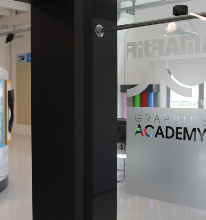 RITRAMA OPENS THE NEW RGA - RITRAMA GRAPHICS ACADEMY: TO DISPLAY RITRAMA APPLICATION SOLUTIONS.