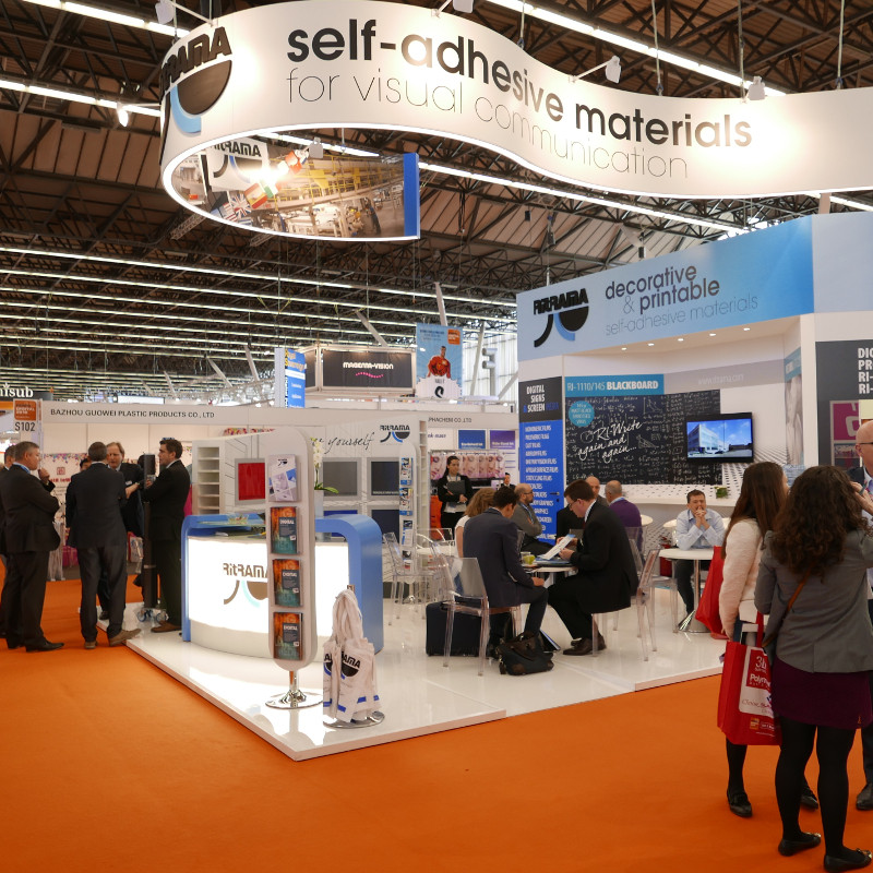 FESPA 2016: LARGE ATTENDANCE AT THE RITRAMA STAND