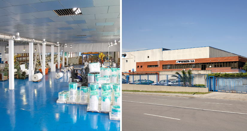 In 1994 Ritrama launches in Spain self-adhesive materials manufacturing.