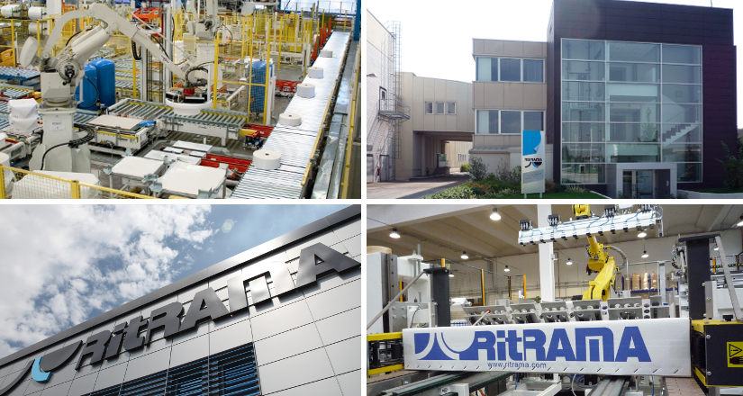 In 2006 Ritrama launches new roll label automated centres.